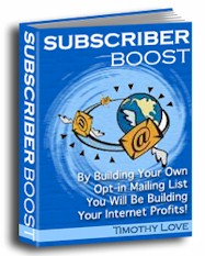 By Building You Own Opt-In List, You will be Building Your Internet Profits